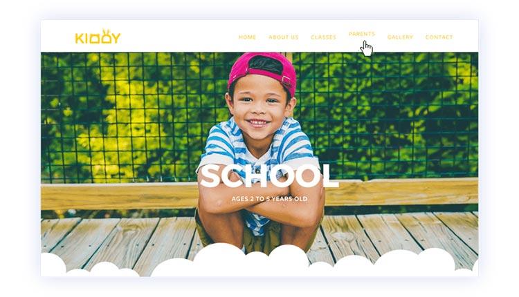 طراحی هدر وب سایت